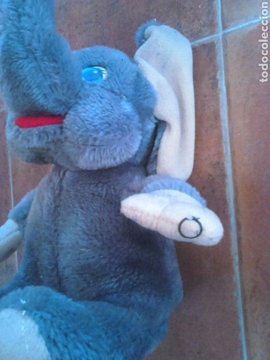 Juguetes Antiguos: Viejo peluche,elefante con pilas,ver fotos - Foto 4 - 201202752
