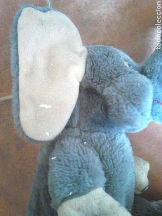 Juguetes Antiguos: Viejo peluche,elefante con pilas,ver fotos - Foto 5 - 201202752