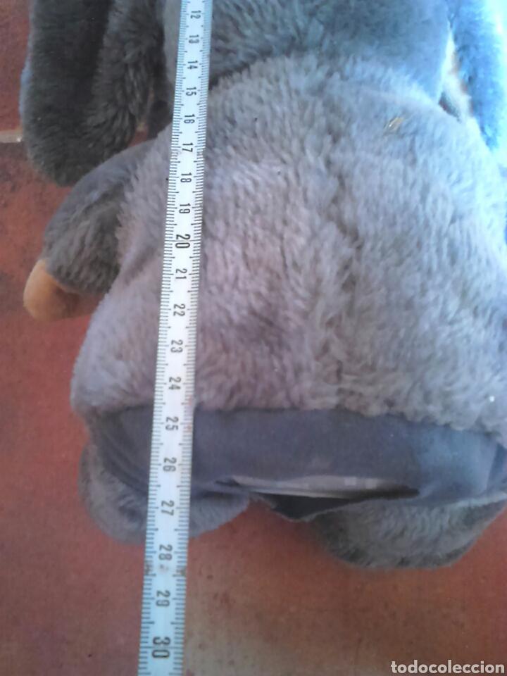 Juguetes Antiguos: Viejo peluche,elefante con pilas,ver fotos - Foto 6 - 201202752