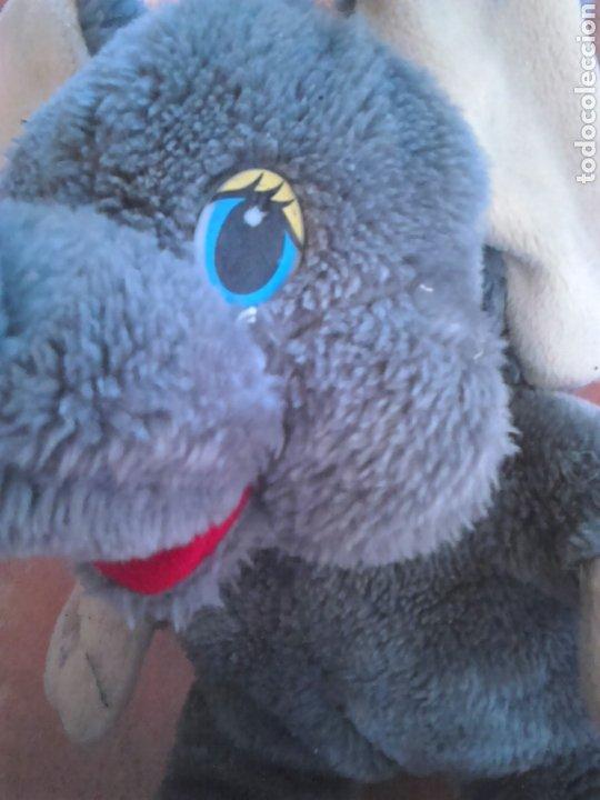 Juguetes Antiguos: Viejo peluche,elefante con pilas,ver fotos - Foto 9 - 201202752