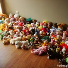 Juguetes Antiguos: LOTE 160 PELUCHES MUÑECOS. Lote 201646340
