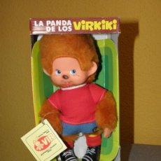 Brinquedos Antigos: PELUCHES LA PANDA DE LOS VIRKIKI SELECCIÓN ESPAÑOLA AÑOS 80. Lote 205068507
