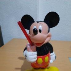 Juguetes Antiguos: VASO MICKEY MOUSE CON PAJITA.. Lote 208192940