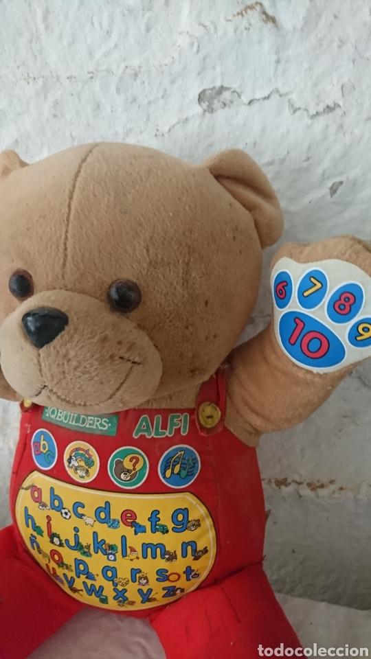 Juguetes Antiguos: Original muñeco osito, inteligente, iqbuilders alfi, ver - Foto 2 - 215407790