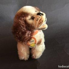 Brinquedos Antigos: PERRO STEIFF COCKIE AÑOS 50, 11 CM. Lote 217897696