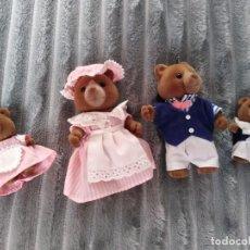 Brinquedos Antigos: FAMILIA OSITOS SYLVANIAN FAMILIES. Lote 221429483