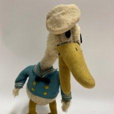 Brinquedos Antigos: PATO DE PELUCHE. FABRICA DE ERNESTO CAHN. LICENCIA WALT DISNEY. 1930.. Lote 221783158