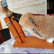 Brinquedos Antigos: JAMON SERRANO DE PELUCHE. Lote 222050591