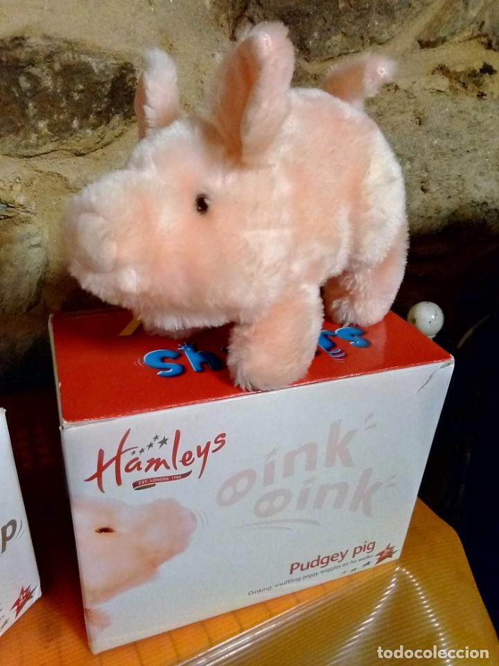 Juguetes Antiguos: Hamleys pudgey pig ( 1986 ) cerdo andador , - Foto 2 - 247423980