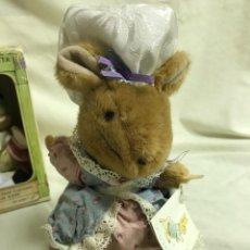 Brinquedos Antigos: PELUCHE PERSONAJE DE BEATRIX POTTER LADY MOUSE 20CM. EDEN. A ESTRENAR. Lote 287341483