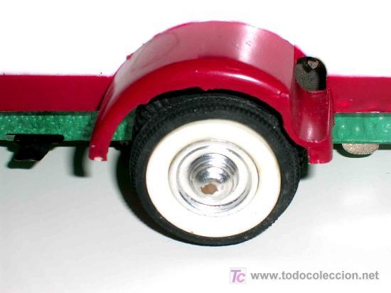Juguetes antiguos Payá: Camión volquete, plástico-lata, mecanismo de cuerda, Paya IBI made in Spain, año 1958. Con caja. - Foto 12 - 27445548