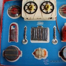 Juguetes antiguos Payá: COCINA CON ACCESORIOS Y BUTANO - PAYÁ. Lote 25506020