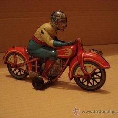 Juguetes antiguos Payá - MAGNIFICA MOTO LITOGRAFIADA DE PAYA ( 1905-1984 ). - 20533794