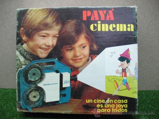 (PAYA) RFE:4202-- CINEMA SUPER 8 - (Juguetes - Marcas Clásicas - Payá)