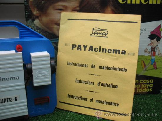 Juguetes antiguos Payá: (PAYA) Rfe:4202-- CINEMA SUPER 8 - - Foto 2 - 21651310