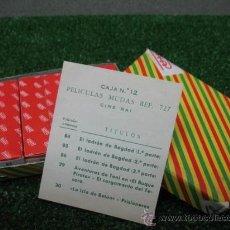 Juguetes antiguos Payá: (PAYA) CAJA DE PELICULAS Nº 12 REF: 727. Lote 23571417