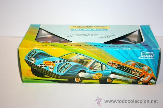 Altes Spielzeug Payá: COCHE METALICO A FRICCION MARCA PAYA - AÑOS 70 - Foto 3 - 29093669
