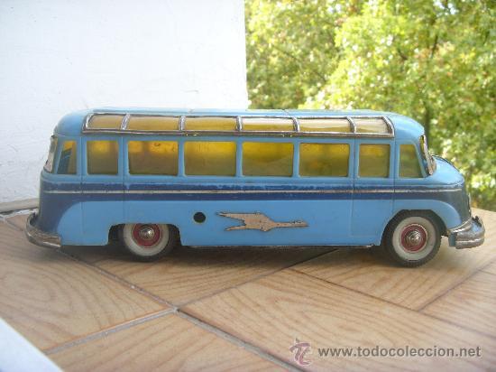 AUTOBUS PAYA STUDEBAKER AÑO 1953 DE FRICCION (VER FOTOS) (Juguetes - Marcas Clásicas - Payá)