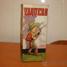 Juguetes antiguos Payá: PAYA CAJA VAQUERO 609 AÑO 1958. Lote 30073071