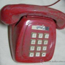 Juguetes antiguos Payá: ANTIGUO TELEFONO ROJO PAYA. Lote 31419540