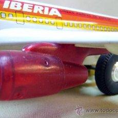 Altes Spielzeug Payá - AVION DE HOJALATA, AIRBUS IBERIA, FABRICADO POR PAYA, A FRICCION, EN SU CAJA - 31541816