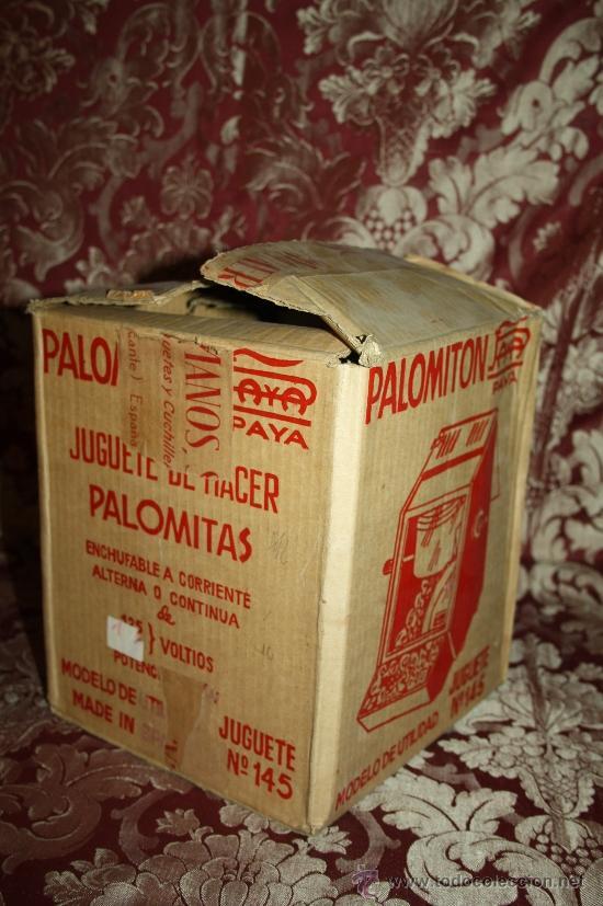 Juguetes antiguos Payá: PALOMITÓN DE 'PAYA' - NÚM. 145 - JUGUETE DE HACER PALOMITAS - CON SU CAJA ORIGINAL E INSTRUCCIONES - Foto 6 - 33232495