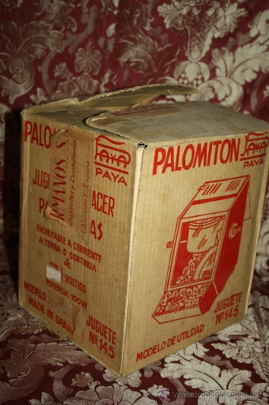 Juguetes antiguos Payá: PALOMITÓN DE 'PAYA' - NÚM. 145 - JUGUETE DE HACER PALOMITAS - CON SU CAJA ORIGINAL E INSTRUCCIONES - Foto 7 - 33232495