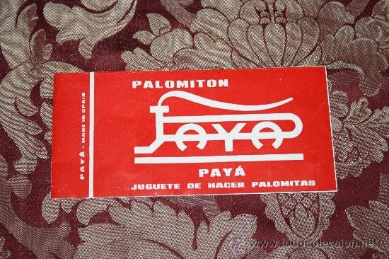 Juguetes antiguos Payá: PALOMITÓN DE 'PAYA' - NÚM. 145 - JUGUETE DE HACER PALOMITAS - CON SU CAJA ORIGINAL E INSTRUCCIONES - Foto 8 - 33232495
