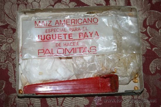 Juguetes antiguos Payá: PALOMITÓN DE 'PAYA' - NÚM. 145 - JUGUETE DE HACER PALOMITAS - CON SU CAJA ORIGINAL E INSTRUCCIONES - Foto 10 - 33232495