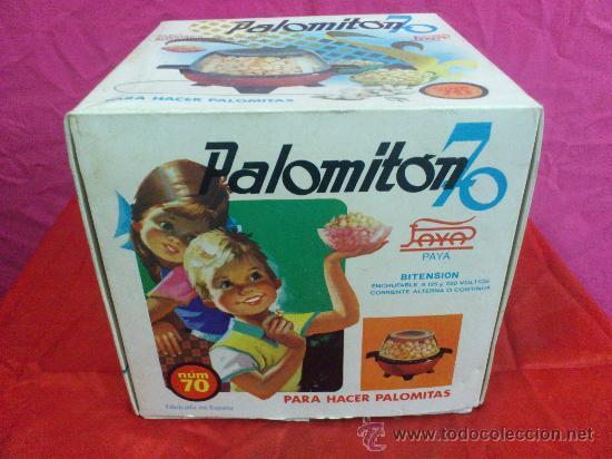 Juguetes antiguos Payá: PALOMITON DE PAYA -NUM. 70 - CAJA ORIGINAL Y COMPLEMENTOS ORIGINALES. FALTA PALOMITON.VER FOTOS - Foto 3 - 34184063