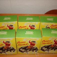 Altes Spielzeug Payá - PAYA CAJA ORIGINAL CON 6 POTROS SALVAJES RFA 673 DE 1958 - 36598503