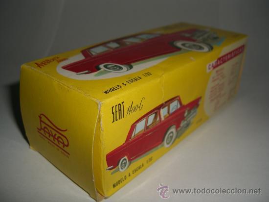 Juguetes antiguos Payá: SEAT 1400 C PAYA Ref.3758 nuevo a estrenar en caja, escala 1/32 - Foto 7 - 37068821