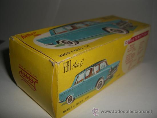Juguetes antiguos Payá: SEAT 1400 C PAYA Ref.3758 nuevo a estrenar en caja, escala 1/32 - Foto 8 - 37068821
