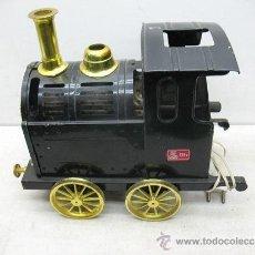 Altes Spielzeug Payá - Paya - Locomotora Palomitón de hojalata de 125 V - 37455825