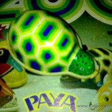 Juguetes antiguos Payá: TORTUGA FRICCIÓN LATA SERIE ZOO DE PAYA A ESTRENAR AÑOS 70*. Lote 37734842