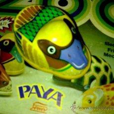 Juguetes antiguos Payá: PATO FRICCIÓN LATA SERIE ZOO DE PAYA A ESTRENAR AÑOS 70*. Lote 37734865