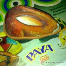 Juguetes antiguos Payá: CONEJO FRICCIÓN LATA SERIE ZOO DE PAYA A ESTRENAR AÑOS 70*. Lote 37734882