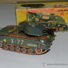 Juguetes antiguos Payá: (M) TANQUE JAGUAR X-77 , PAYA, TANQUE CON CAJA, . Lote 37982303