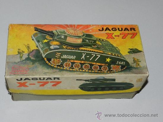 Juguetes antiguos Payá: (M) TANQUE JAGUAR X-77 , PAYA, TANQUE CON CAJA, - Foto 2 - 37982303
