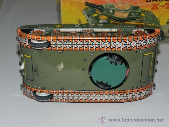 Juguetes antiguos Payá: (M) TANQUE JAGUAR X-77 , PAYA, TANQUE CON CAJA, - Foto 6 - 37982303