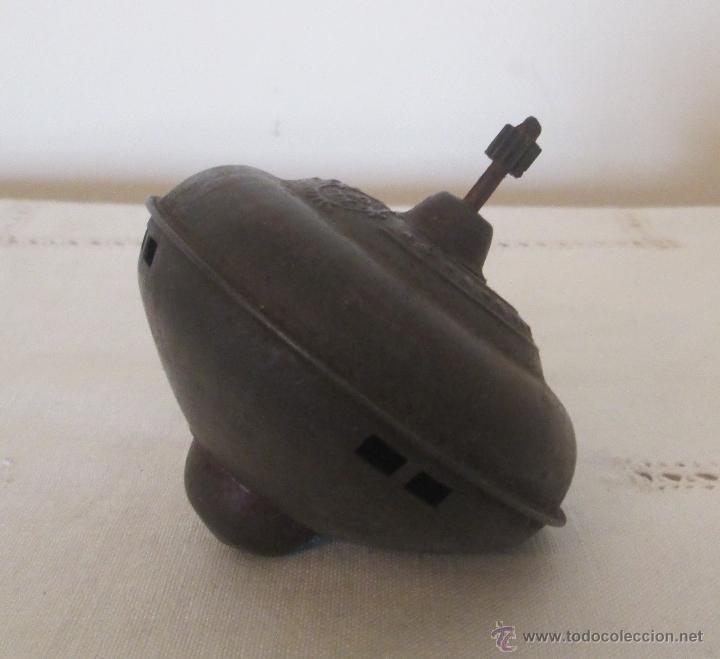 Juguetes antiguos Payá: Antigua peonza de Payá en hojalata - Foto 3 - 39503380