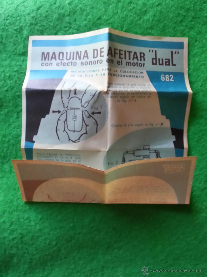Juguetes antiguos Payá: MAQUINILLA DE AFEITAR RASURADORA DE PAYA - Foto 4 - 40184829