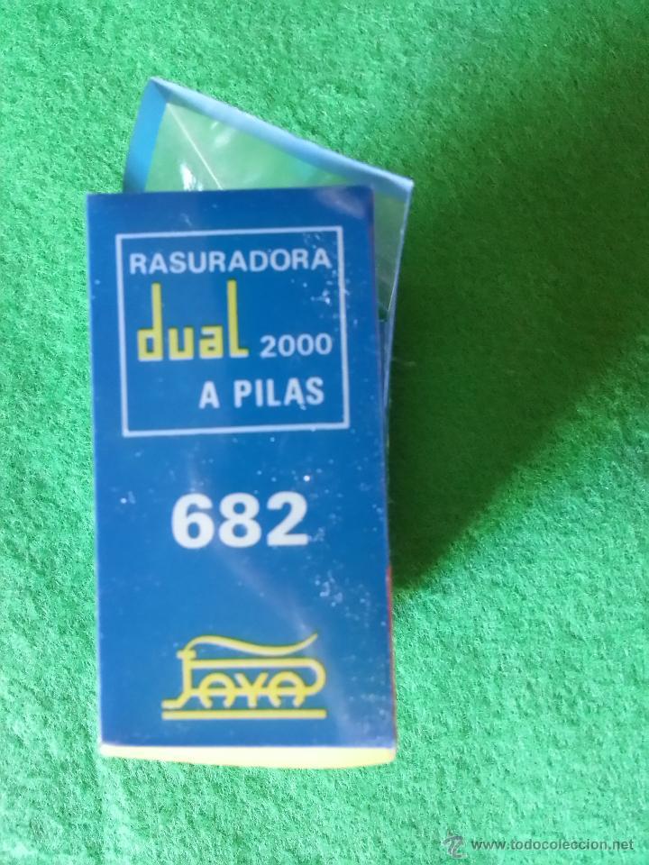 Juguetes antiguos Payá: MAQUINILLA DE AFEITAR RASURADORA DE PAYA - Foto 5 - 40184829