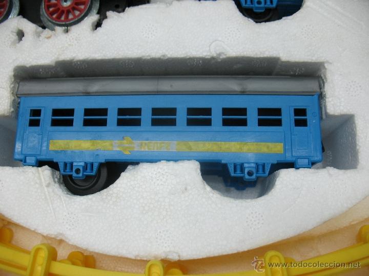 Juguetes antiguos Payá: Paya -tren electrico a pilas Renfe-0-0008 - Foto 4 - 40226951