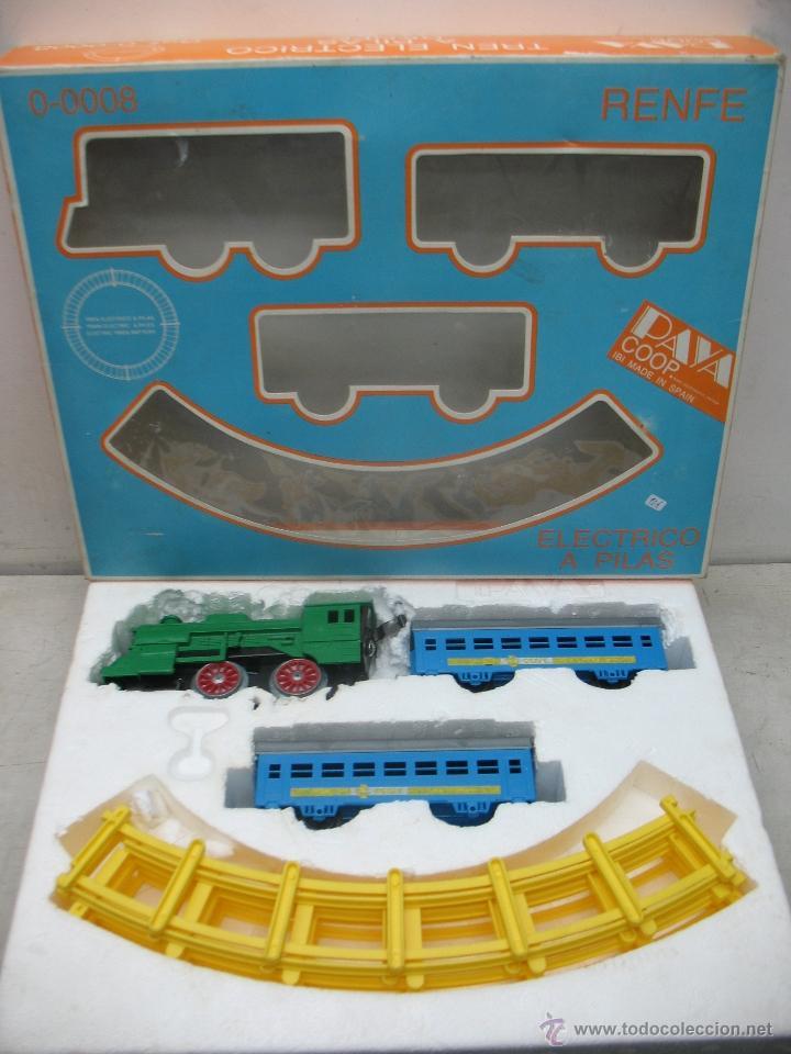 Juguetes antiguos Payá: Paya -tren electrico a pilas Renfe-0-0008 - Foto 6 - 40226951