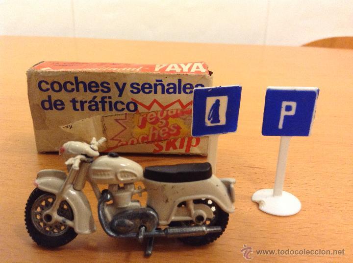Juguetes antiguos Payá: PAYA MOTO TIPO SANGLAS PAYA INTERNACIONAL PROMOCIONAL SKIP ESCALA 1:66 - Foto 2 - 41619427