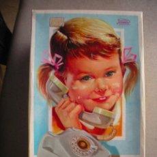 Juguetes antiguos Payá: TELEFONO PAYA CON TIMBRE Y CARRILLON A CUERDA, FALTA TAPA DE LAS PILAS. Lote 43006388