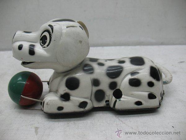 Juguetes antiguos Payá: Paya - Perro dálmata con mecanismo a cuerda fabricado en España - Foto 2 - 43728325