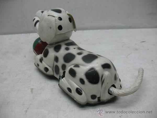Juguetes antiguos Payá: Paya - Perro dálmata con mecanismo a cuerda fabricado en España - Foto 3 - 43728325