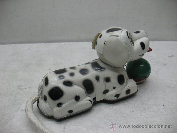 Juguetes antiguos Payá: Paya - Perro dálmata con mecanismo a cuerda fabricado en España - Foto 4 - 43728325
